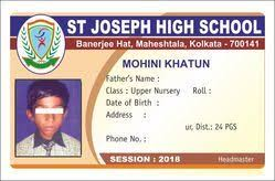 Exhibition Card college Office Double 25 piece Rs Sided Identity One Id Cm 86x54 19974216088 And