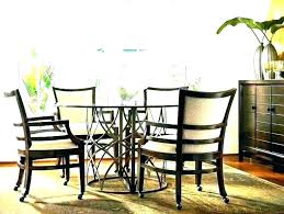 dining chairs with wheels table with rolling chairs caster dining chairs rolling dining room chairs dining