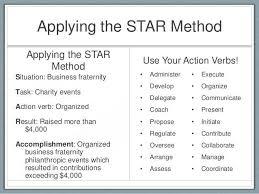 Star Format Resume Gorgeous Extraordinary Star Method Resume