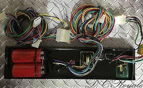 whelen edge 9000 light bar sl6 strobe 6 head power supply tested whelen ub412 strobe power supply cables 9m 9u edge 9000 light bar 4 head