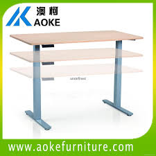 metal sit to stand desk frame 1