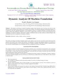 Amplitude Ratio Machine Design Pdf Dynamic Analysis Of Machine Foundation