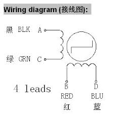 stepper motors radds electronics for 3d printer stepper 1 wiring diagram for wantai 42byghw609 stepper