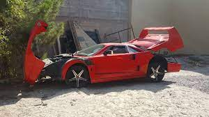 We'll review the issue and make a decision about a partial or a full refund. Behold The Horror Of This Nissan Sentra Based Ferrari F40 Replica