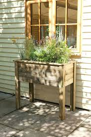 outdoor plant table impressive wooden raised planter instead of window box forest garden timber stand outdoor plant table stand