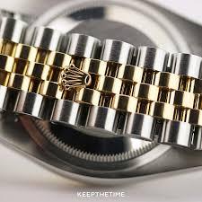 Rolex New Clasp Design Two Tone Rolex Datejust 116233 Hidden Clasp Rolex Rolex