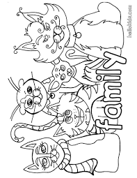 Small Picture Cat family coloring pages Hellokidscom