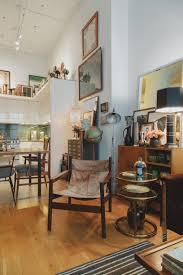 Die-Wohngalerie: Eklektisches Industrial-Ethno-Design in Jersey
