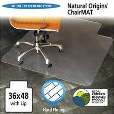 chair mat with lip es natural origins chair mat with lip for hard floors x clear chair mat with lip