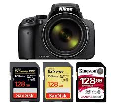 Best Memory Cards For Nikon Coolpix P900 Camera Times