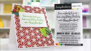 Scrapbooking Christmas Cards Designs Its Time For Handmade Christmas Cards Scrapbook Com Exclusive