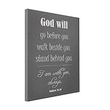 wall art inspirational god will quote with bible verse 8x10 canvas print on bible verse wall art canvas with amazon wall art inspirational god will quote with bible verse