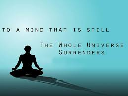 Meditation Quotes Stunning Meditation Quotes To A Mind That Is Still The Whole Universe