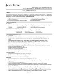 Supervisor Resume Sample Free Resume Samples For Food Service New Supervisor Resume Sample Free