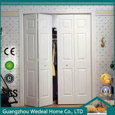 china comtemporary modern interior six panel hollow core bifold closet door china modern doors interior doors