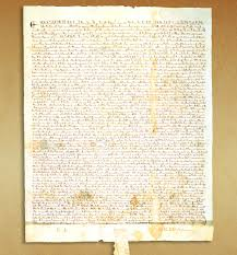 "magna carta petition of right history of civil liberties  magna carta or ""great charter "" signed by the king of england in 1215 was a turning point in human rights"
