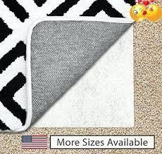non slip area rugs the original gorilla grip non slip area rug pad for carpet made non slip area rugs