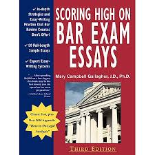 Bar Exam Essays Scoring High On Bar Exam Essays In Depth Strategies And Essay Writing That Bar Review Courses Dont Offer With 80 Actual State Bar Exams Questions
