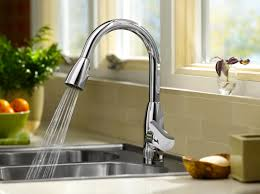 Modern Kitchen Sink Faucets American Standard 4175300075 Colony Soft Pull Down Kitchen