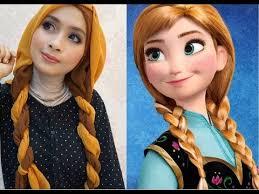 disney s princess anna frozen inspired makeup tutorial