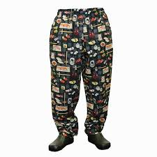 Patterned Chef Pants