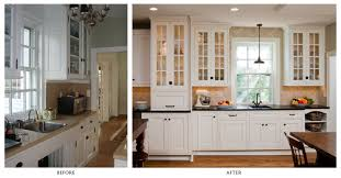 Kitchen Remodels Small Kitchen Remodels Before And After Maple Wood Cabinet Black
