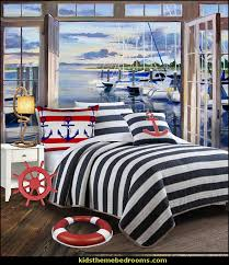 decorating nautical style bedrooms
