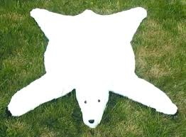 fake bear rug for nursery white bear rugs faux rug fake pattern skin with head polar fake bear rug