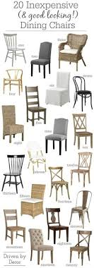 20 inexpensive dining chairs that don t look dining room setsfarmhouse
