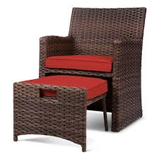 Patio furniture for small spaces Residential Kosnica Halsted 5pc Wicker Small Space Patio Furniture Set Threshold Target