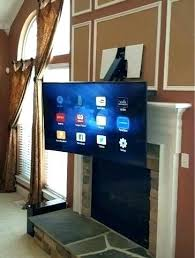 pull down tv wall mount mounted over fireplace mount mounted above fireplace ideas pull down tv