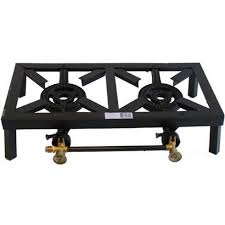 burner stainless steel stove with stand 2 burner propane cooktop