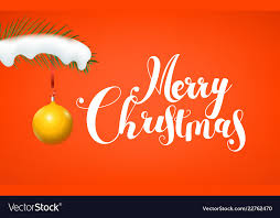 Free Christmas Greetings Merry Christmas Greetings Royalty Free Vector Image