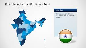 powerpoint map templates editable india map template for powerpoint slidemodel