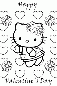 To download the coloring pages, click on the image you would like to download. Valentines Color Pages Coloring Home