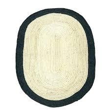 oval jute rug oval jute rug braided with black border outdoor oval braided jute rug
