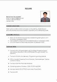 Sample Resume For Working Abroad Inspirational Sample Resume In