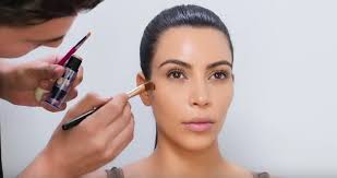 kim kardashian shows you how hot new makeup trend strobing works rtm rightthisminute
