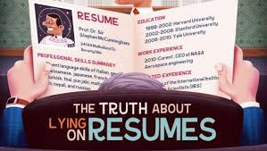 Lying On Resume Inspiration 5924 The Truth About Lying On Resumes INFOGRAPHIC Spark Hire