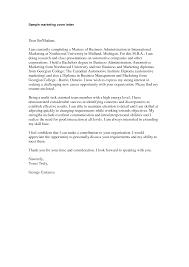 Cover Letter Business How Write Marketing Letter Format Formal Agency Cover Winning