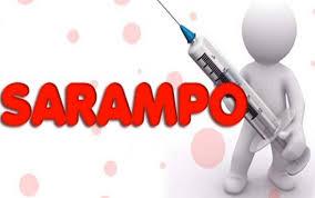 Resultado de imagem para foto da logomarca da campanha de vacinação contra o sarampo