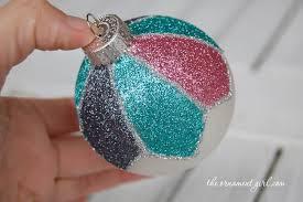 Decorating Christmas Ornaments Balls decorate a plain Christmas ornament with glitter The Ornament Girl 10