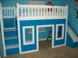 Castle Loft Bed Plans Ana White Playhouse Loft Bed With Stairs And Slide Playhouse