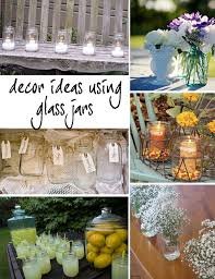 Glass Jar Wedding Decorations Ideas with glass jars Wedding Pinterest Jar Jars decor and 2