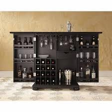 Crosley Furniture Alexandra Expandable Bar Cabinet Walmart