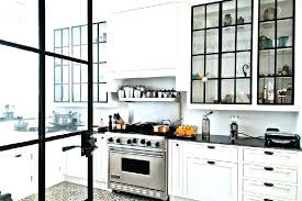 kitchen cabinet doors with glass kitchen cabinets glass doors