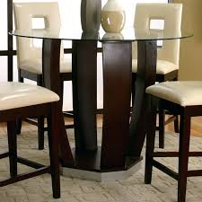 glass pub table inc contemporary design round tempered glass pub modern glass bar table glass pub table