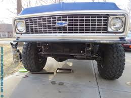 Custom Tube Front Bumper with Winch Mount for 'Ol Blue Part 1 ...