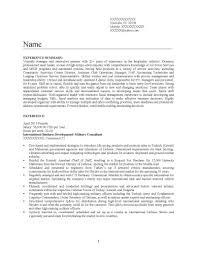 Nice Army Officer Curriculum Vitae Ideas Entry Level Resume