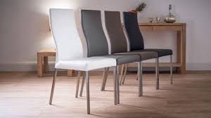 minimalist dining room lovely upholstered dining chairs with lovely leather dining chair modern pertaining to motivate